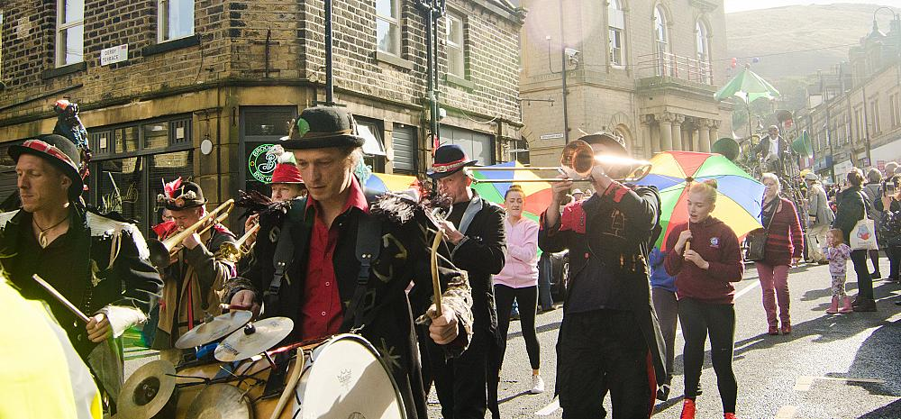 Picture of Marsden Jazz Festival parade