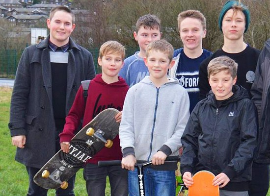 Marsden skate group