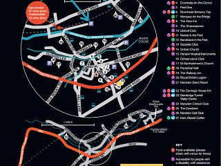 Festival Venue Map and Jazz Bus
